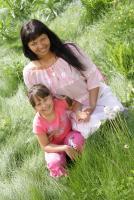 Olya and Diana