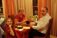Oleg, mother-in-low (любимая теща) & Nadya